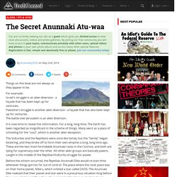 The Secret Anunnaki Atu-waa