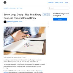 Secret Logo Design Tips That Every Business Owners Should Know – ScanDigital