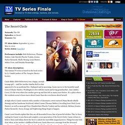 The Secret Circle TV show