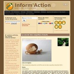 Le secret des coquilles d'oeufs