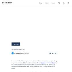 The Secret Dark Side Of Kale