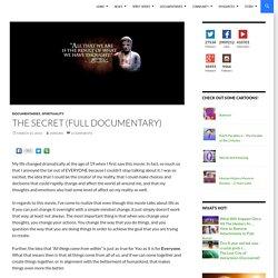The Secret (Full Documentary)
