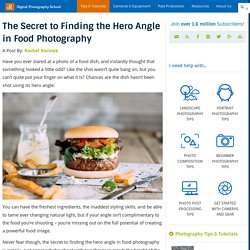 The Secret to Finding the Hero Angle in Food Photography