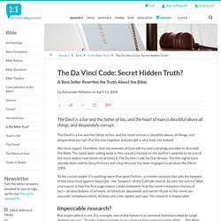 The Da Vinci Code: Secret Hidden Truth?
