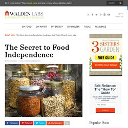 The Secret to Food Independence