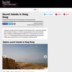 Secret islands in Hong Kong