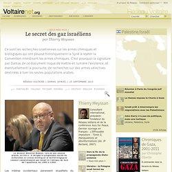 Le secret des gaz israéliens | « Sous nos yeux »