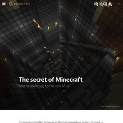 The secret of Minecraft — The Message