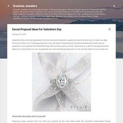 Secret Proposal Ideas For Valentine's Day