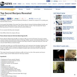 Top Secret Recipes Revealed