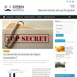Le secret de la réussite de l'open innovation ?
