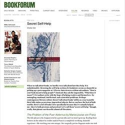 secret self-help - bookforum.com / syllabi