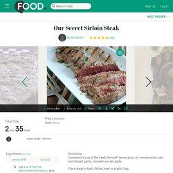 Our Secret Sirloin Steak Recipe - Australian.Food.com