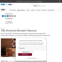 The Secret to Hermès' Success