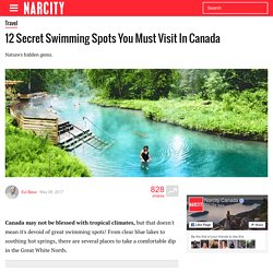 12 Secret Swimming Spots You Must Visit In Canada - Narcity