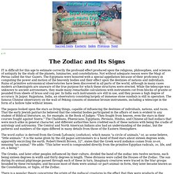 Secret Teachings of All Ages: The Zodiac and Its Signs