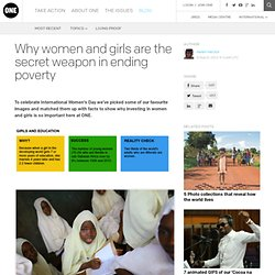 Why women and girls are the secret weapon in ending poverty