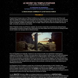 Le Secret du Zodiaque de Denderah