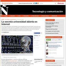 Clarin-La secreta universidad abierta en Internet