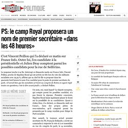 Le camp Royal proposera un nom