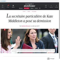 La secrétaire particulière de Kate Middleton a posé sa...