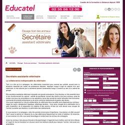Secrétaire assistante vétérinaire
