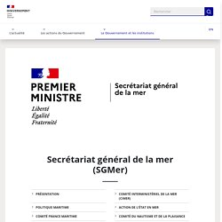 Secrétariat général de la mer (SGMer)