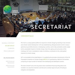 Secretariat - Green Climate Fund