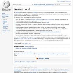 Secrétariat social