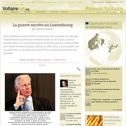 La guerre secrète au Luxembourg