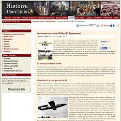 Les armes secrètes d'Hitler (R. Desquenes)