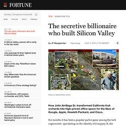 The secretive billionaire who built Silicon Valley