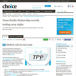 TPP secretly trading away rights