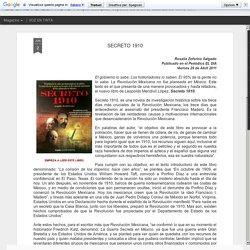 EL BREVE ESPACIO: SECRETO 1910