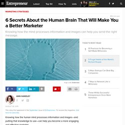 6 Secrets About the Human Brain That Will Make You a Better Marketer