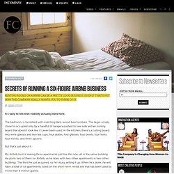 Secrets Of Running A Six-Figure Airbnb Business
