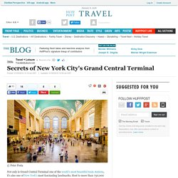 Secrets of New York City's Grand Central Terminal