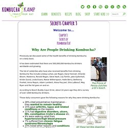 Secrets Chapter 3 - Kombucha Kamp
