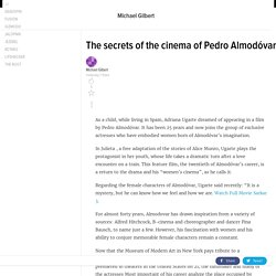 The secrets of the cinema of Pedro Almodóvar