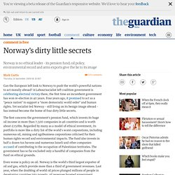 Norway's dirty little secrets