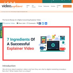 The Secrets of Highly Converting Explainer Video in 2020