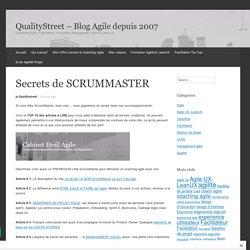 Secrets de ScrumMaster