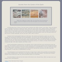 Secrets from the Center of the Earth