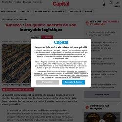 Amazon : les quatre secrets de son incroyable logistique