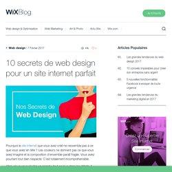 10 secrets de web design pour un site internet parfait