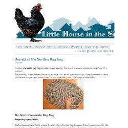 Secrets of the No-Sew Rag Rug
