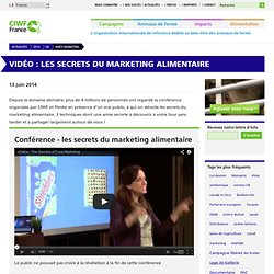 Vidéo : Les secrets du marketing alimentaire