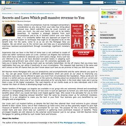 Secrets and Laws Which pull massive revenue to You