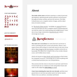 Rune Secrets - Elder Futhark Rune Meanings