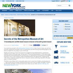 Secrets of the Metropolitan Museum of Art - February 28, 2013